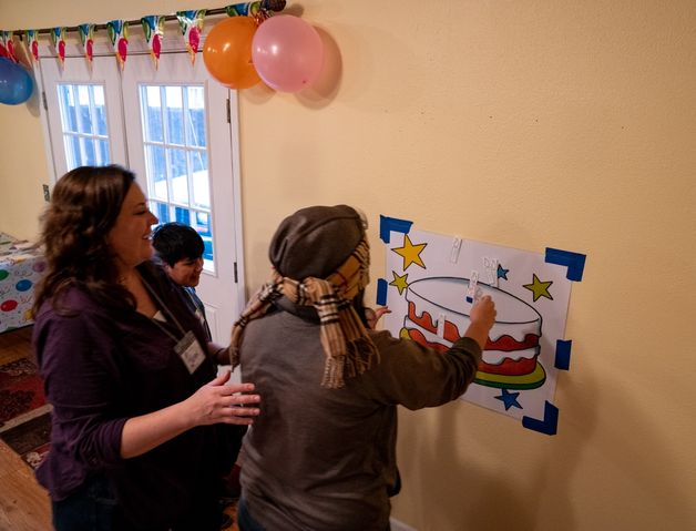 Pin the Candle on the Cake 2