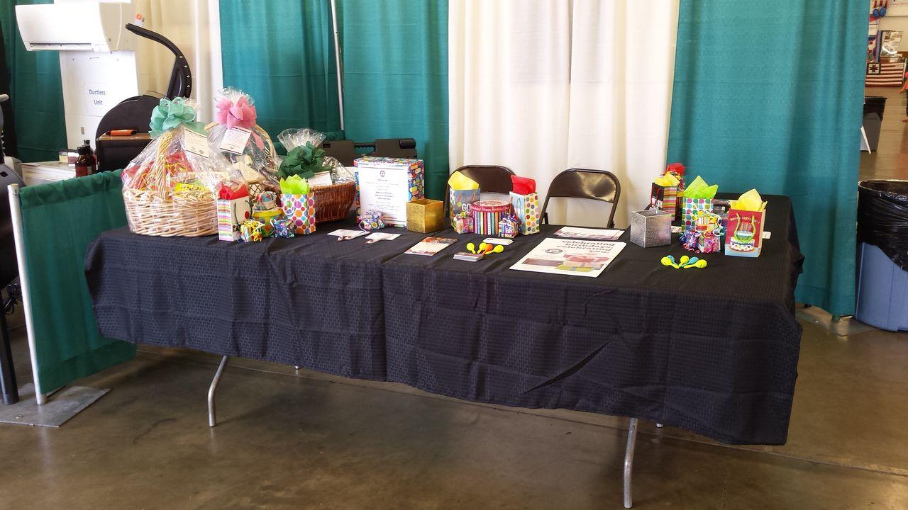 Polk County Fair Booth