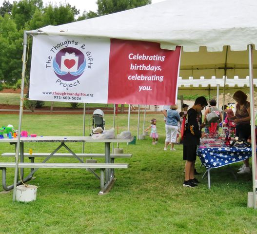 Independence Days Arts & Crafts Tent